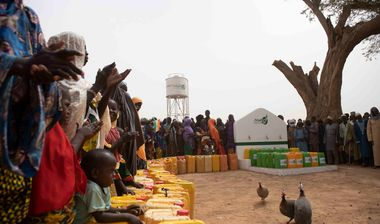Directaid Water Projects AlBushra Well in Chad 1